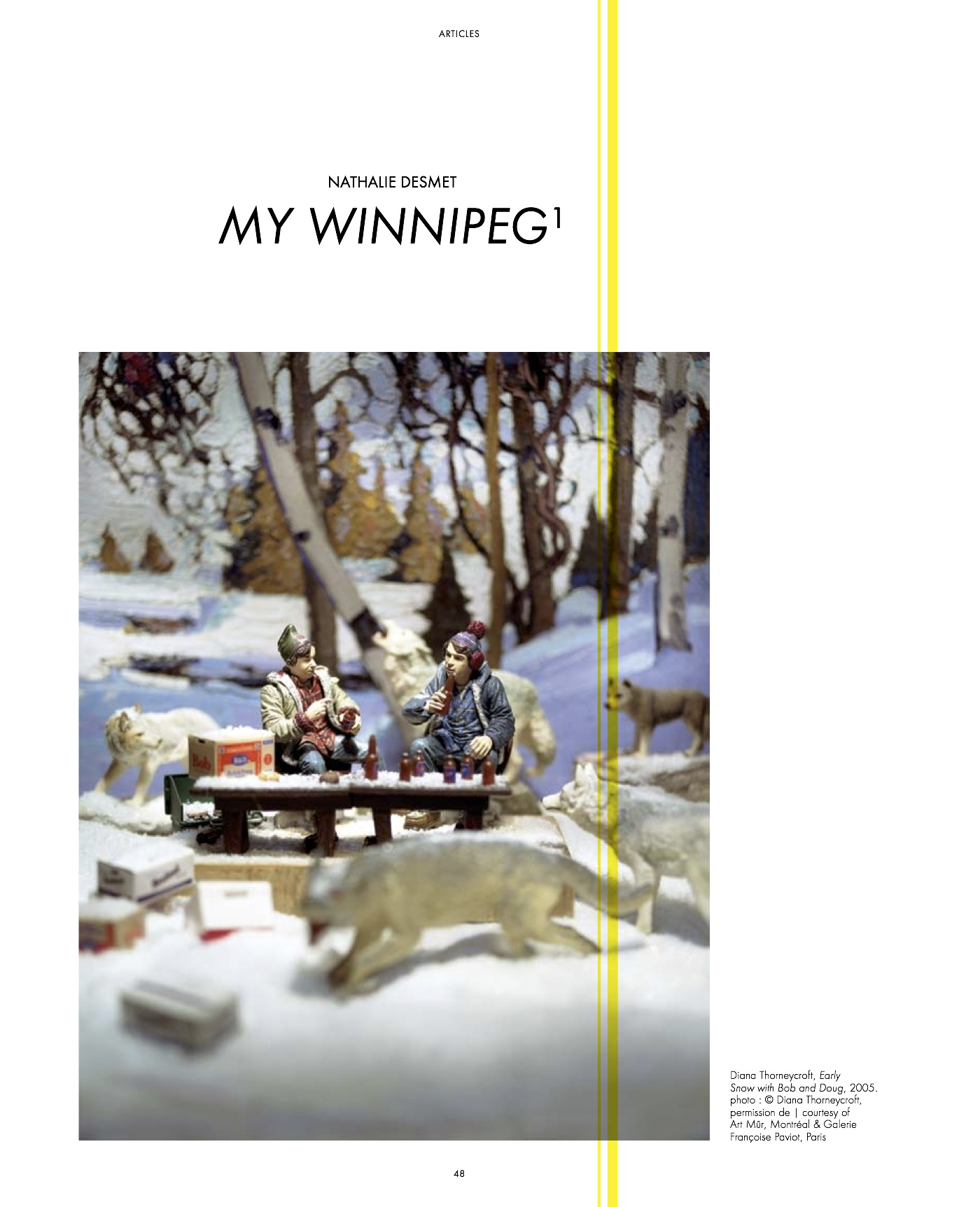 ARTICLE > « My Winnipeg » à la Maison rouge | esse #74