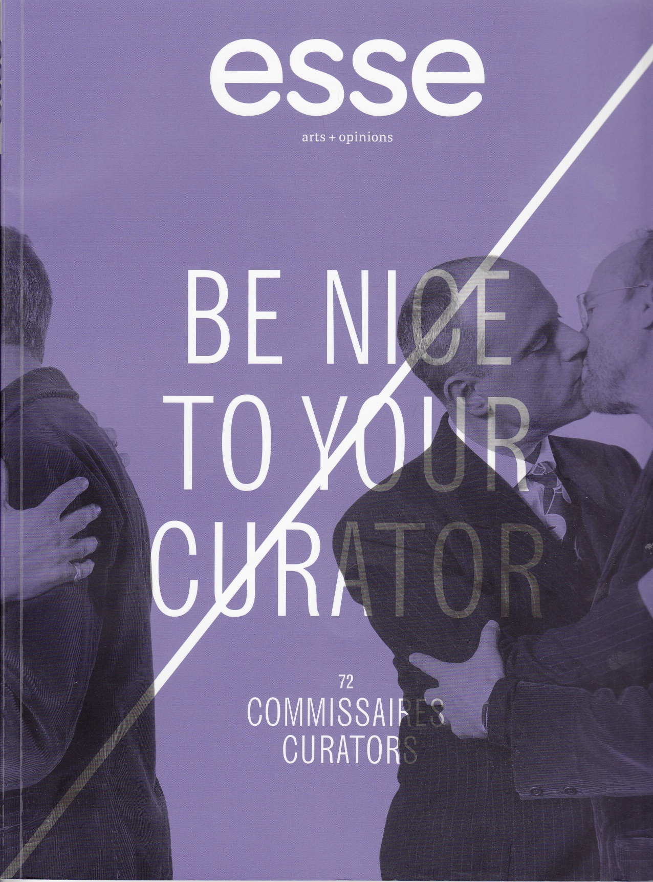 ARTICLE > Be nice with your curator : Valorisations institutionnelles et nouvelles pratiques curatoriales | esse #72