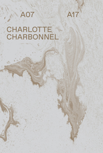 CATALOGUE > Charlotte Charbonnel A07 A17, Paris, Galerie Backslash, 2018