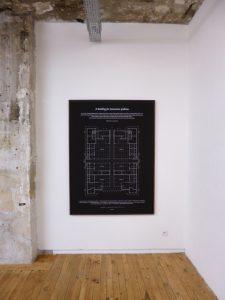 Wesley Meuris A Building For Innovative Galleries, 2013 Impression sur papier photo montée sur dibond, encadré 115 x 155 cm  Edition de 3 ex + 1 AP Courtesy Galerie Jérôme Poggi, Paris